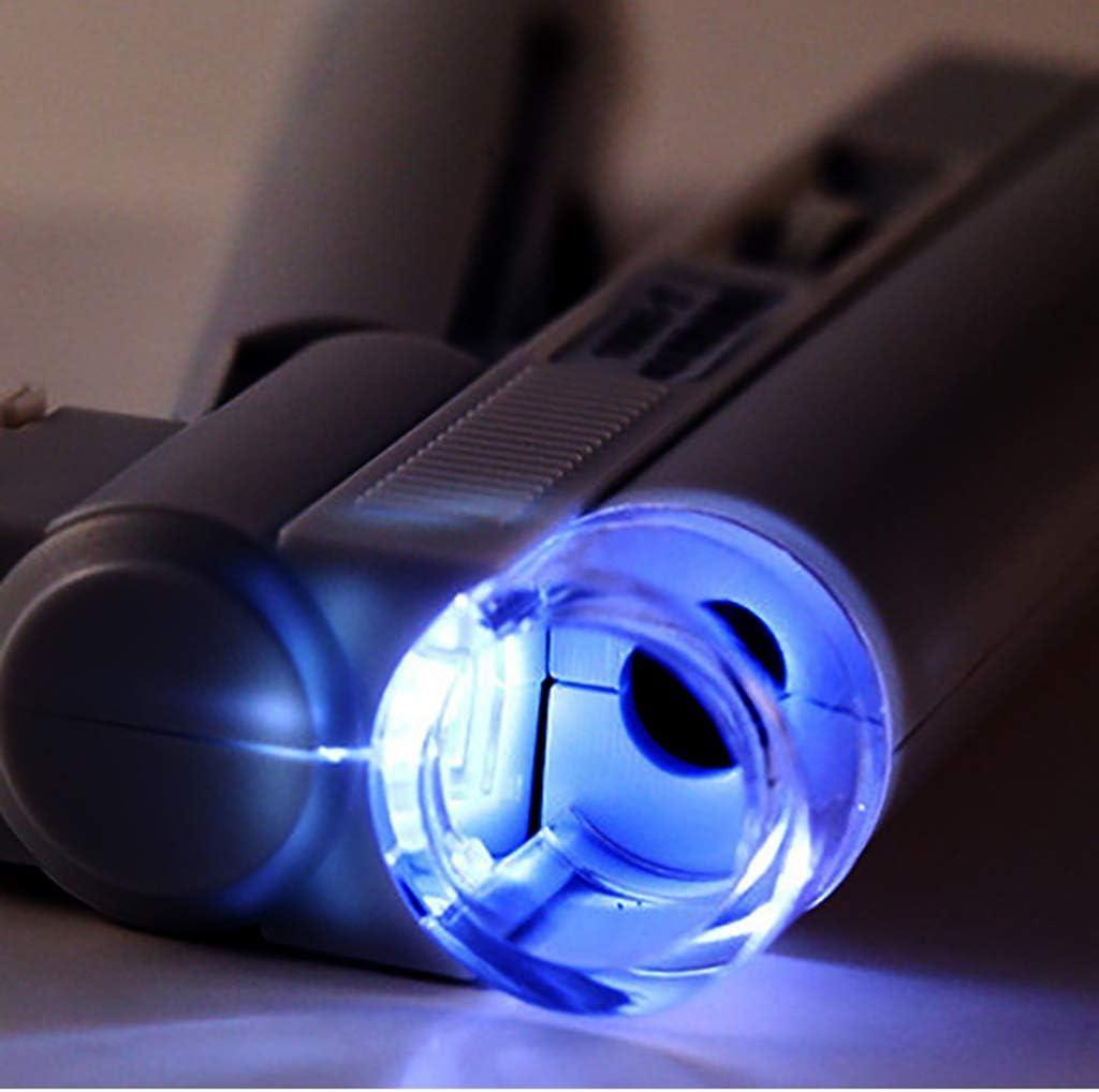 Experimento Ni/ños Y Estudiantes Al Aire Libre Aula De Animales Y Plantas Observaci/ón Lupa 100X Microscopio Binocular Iluminaci/ón LED