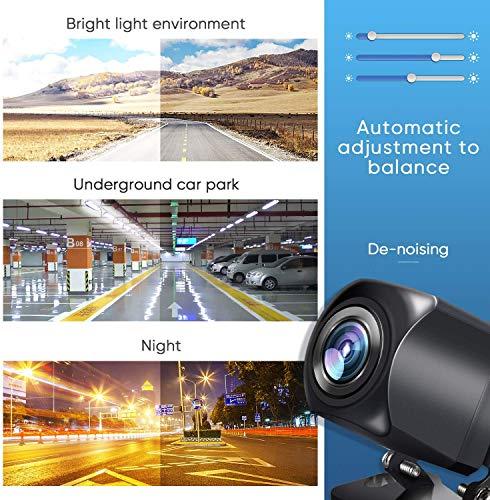 Rückfahrkamera 170° Winkel Fischaugenlinse HD IP68 wasserdicht Nachtsicht Auto Rückansicht Kamera Einparkhilfe 1280 * 960 Pixel