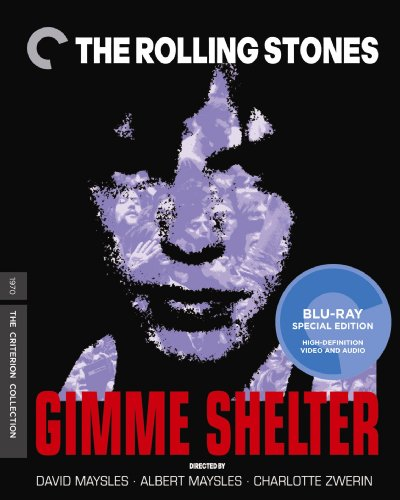 The Rolling Stones: Gimme Shelter (The Criterion Collection) [Blu-ray] by Criterion