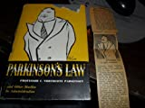 img - for Parkinson's Law book / textbook / text book
