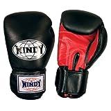 Windy Super Bag Gloves (Black-Red, Large)