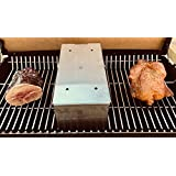 DiamondKingSmoker Stainless Steel Smoker Cooker Box for Grill   Turn Any BBQ Grill Into A Smoker   No Propane or Charcoal Needed   Provides All The Heat and Smoke to Cook Any Food (432 cu inches)