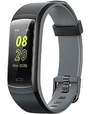 Willful Fitness Armband,Fitness Tracker Wasserdicht IP68 0,96 Zoll Farbbildschirm Aktivitätstracker Pulsuhren Schrittzähler Fitness Uhr Smartwatch Sportuhr fürDamen HerrenAnruf SMS Beachten für Handy