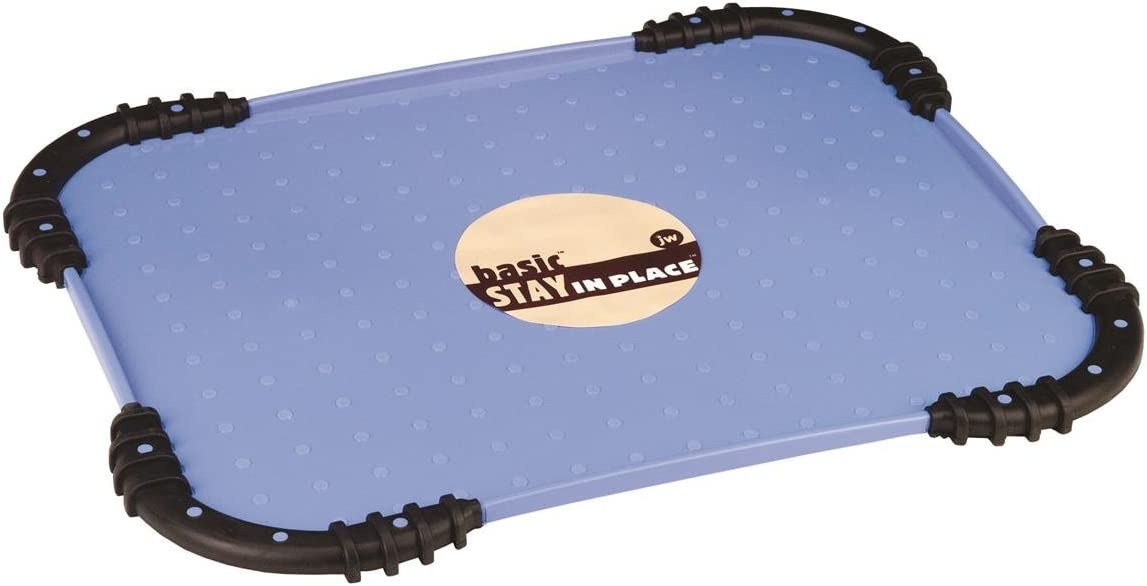 JW Pet Company Stay in Place Pet Food Mat, Colors may vary