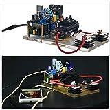 Sunnytech Plasma Loudspeaker Classic tl494 Audio Arc Speaker Music Player Model DC 24 ST06