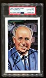 Red Auerbach Signed 1992 Center Court HOF Postcard Autographed Celtics PSA/DNA