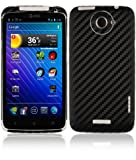 Skinomi TechSkin - HTC One X Screen Protector + Carbon Fiber Full Body Skin / Front & Back Premium HD Clear Film / Ultra Invisible and Anti Bubble Shield