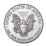 2021 1 oz Silver American Eagle Brilliant