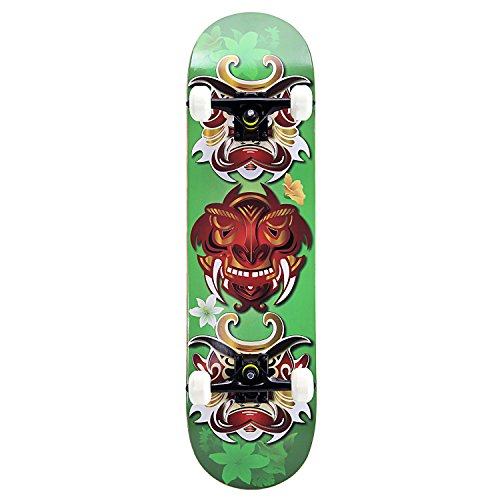 OneHype - Pro Complete Skateboard Three Tribal Warriors, 31