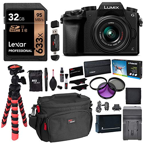Panasonic LUMIX DMC-G7KK DSLM 4K Camera