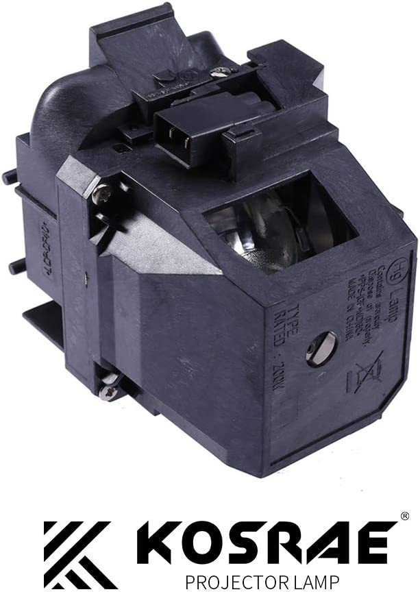 PowerLite 520 530 535W 525W EB-530 EB-535W EB-520 EB-525W Projector V13H010L87 Replacement Lamp Bulb with Housing for Epson BrightLink 536Wi KOSRAE for ELPLP87