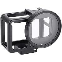 Mugast Estuche de cámara de aleación de Aluminio, Tapa Protectora, Jaula V, Filtro, Tapa de Lente, Accesorio para Gopro Hero 7 Black Hero6 Hero5