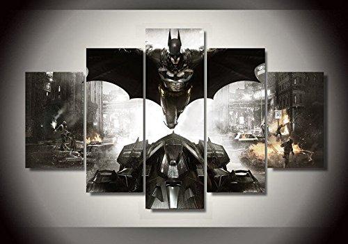 Batman Dark knight movie print canvas 5 pieces