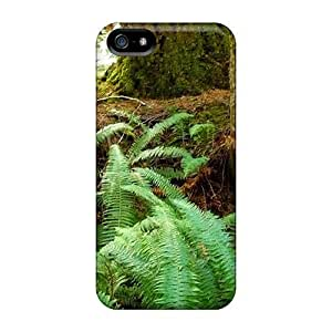 Diy Yourself case Protector For Iphone 5/5s Ferns YAlwVBQFd6T In Forest case cover