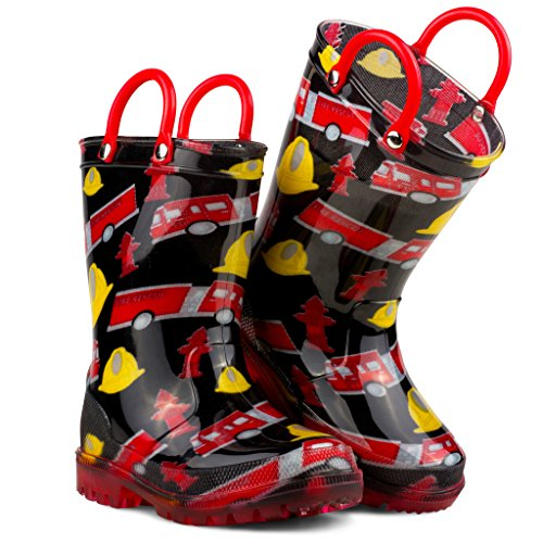 Chillipop Children's Light Up Rain Boots, Little Kids & Toddlers, Boys & Girls by Chillipop (Image #3)'