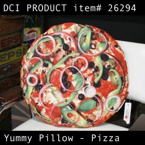 Huge Pizza Plush Yummy Throw Pillow