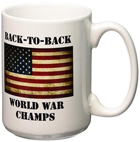 3dRose America American Ceramic 15 Ounce