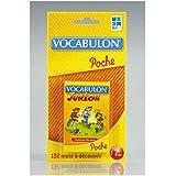 Megableu - 678054 - Jeu de voyage - Pocket Vocabulon Junior