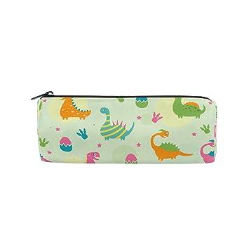 852c4c21f9e0 Estuche para lápices dinosaurio, multifuncional, bolsa de papelería, bolsa  con cremallera de imobaby