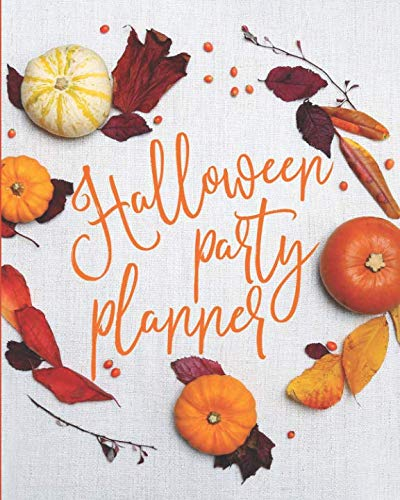 Halloween Party Planner: Themed Event Planner + October