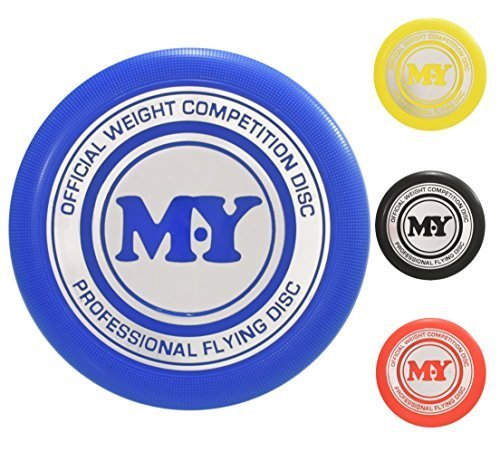 2 x Official Weight Competition Professional Flyer Disc - Colours are Sent at Random Kandy Toys