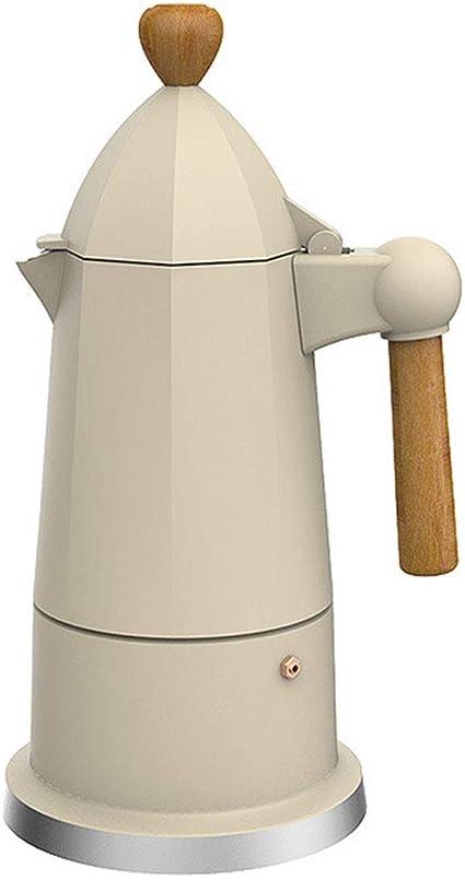 ZHJIUXING DQ Actualizar Cafetera Italiana Moka Cafeteras Espresso ...