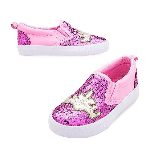 Disney Princess Slip-On Sneakers For Girls Size 9