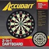 Accudart Competition 2 in 1 dart board