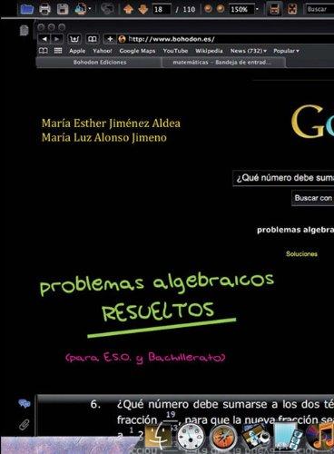 Descargar Libro Problemas Algebraicos Resueltos: M E Jiménez M L Alonso