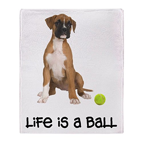 CafePress - Boxer Life - Soft Fleece Throw Blanket, 50