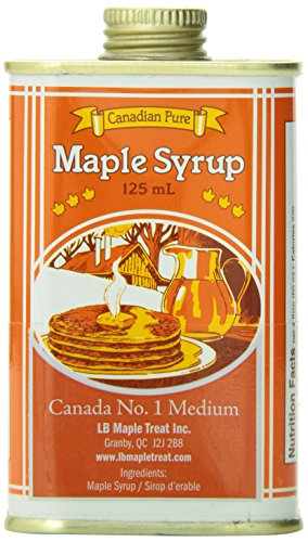 125 Ml Tin - L B Maple Treat 125ml Tin L B Maple Treat Canada #1 Medium Maple Syrup