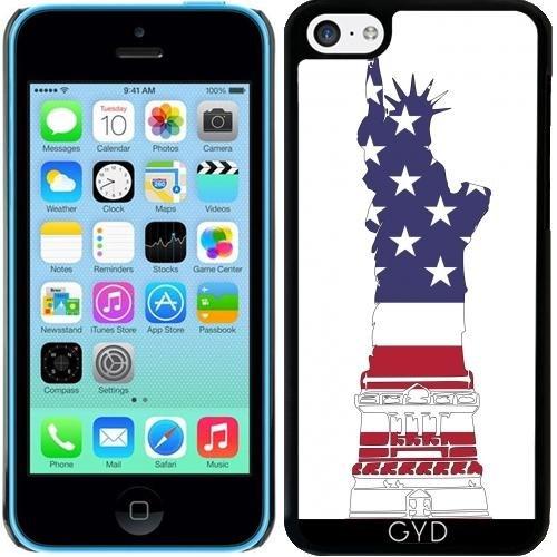 Coque pour Iphone 5c - Amérique Nous Drapeau by WonderfulDreamPicture
