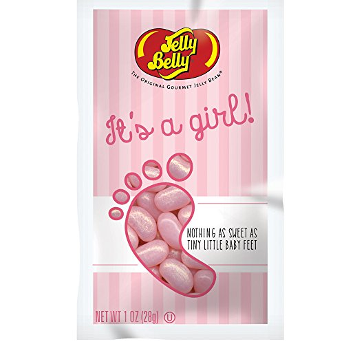 JELLY BELLY IT'S A BOY! OR IT'S A GIRL! JELLY BEANS ~PERFECT FOR BABY SHOWERS! (IT'S A GIRL!) (Girl A Jelly Its Belly)