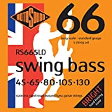 Rotosound RS665LD Swing Bass 66 Stainless Steel 5 String Bass Guitar Strings (45-130)