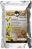 MegaOne Vanilla Meal Replacement Shake Mix - Natural Vegetarian - High Absorption Plant Based Protein - Non-GMO - Gluten Free - For Diet / Weight Loss, Hunger Control, Emergency Food Storage