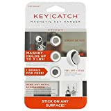 The KeyCatch Sticky by KeySmart: A Modern Magnetic Key Rack (3 Pack)