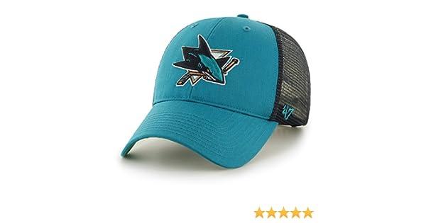 Gorra trucker verde de San Jose Sharks NHL MVP Branson de 47 Brand - Verde 8ca7a74cb1d