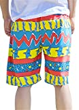 Taloyer Casual Couples Beach Board Surfing Shorts Quick Dry Summer Swimming Short Pants Trunks (Men)