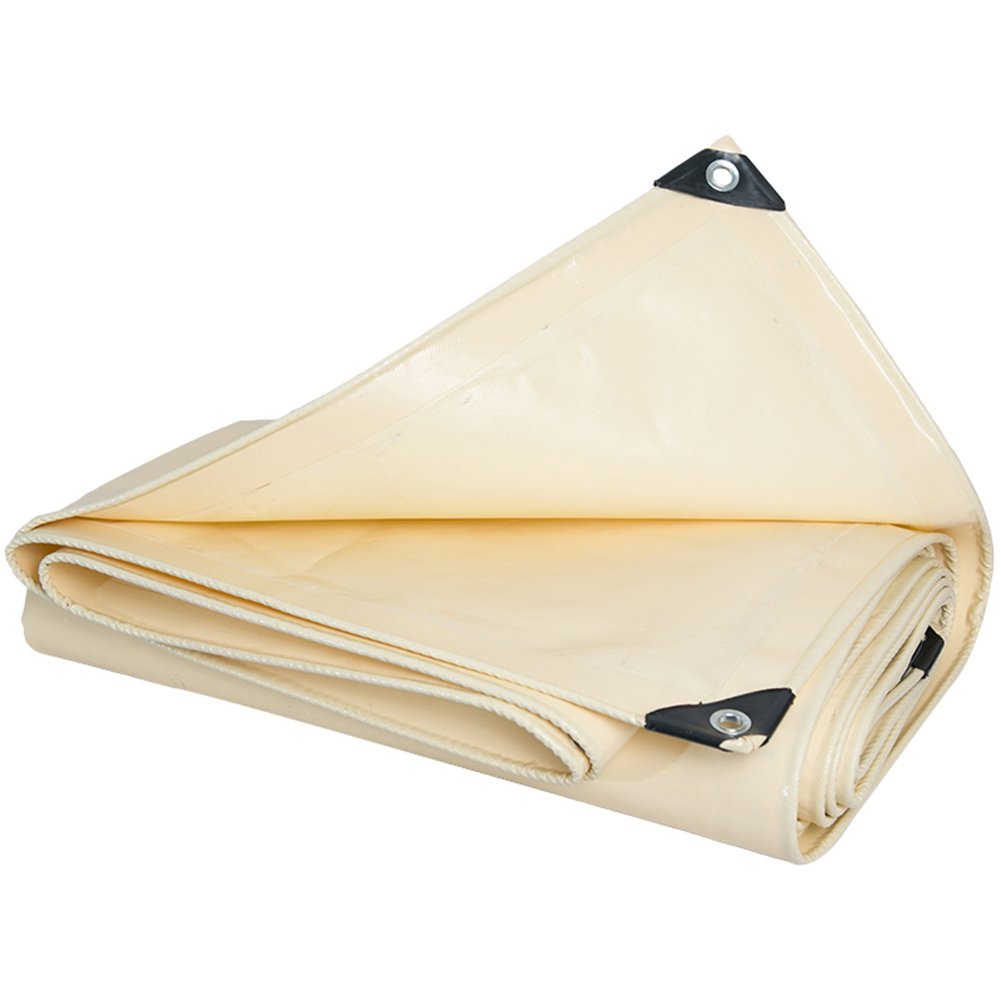 【送料無料】 多目的ヘビーデューティターポリン、高密度織りポリエチレンとダブルラミネート (色、防水テントタープターポリンキャンプタープ - 600g/m²厚さ0.5MM ++ (色 ベージュ, : : ベージュ, サイズ さいず : 4X5M) 4X5M ベージュ B07JY9FFMY, ライフ&ビューティ:6408d9ab --- martinemoeykens.com