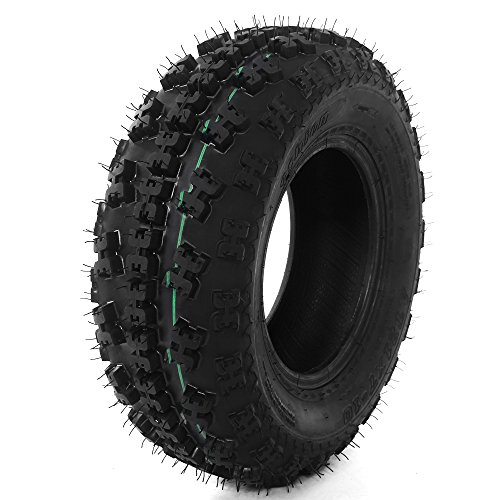 Front Tire Set (2x) 4ply 21X7-10 Sport ATV Tires 21 7 10 21x7x10 Pair by Roadstar (Image #3)