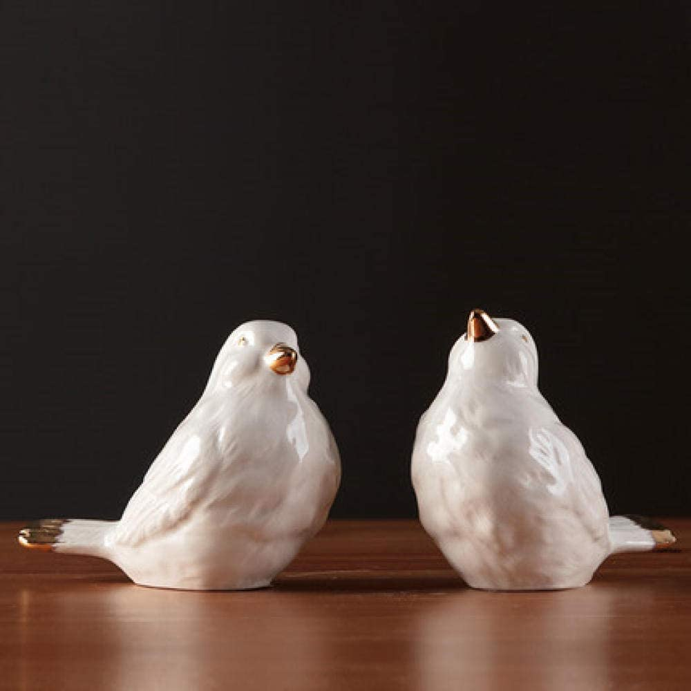 葉巻灰皿, 小さい鳥。ミニセラミック装飾品のギフト、家庭のリビングルームのテレビキャビネット動物