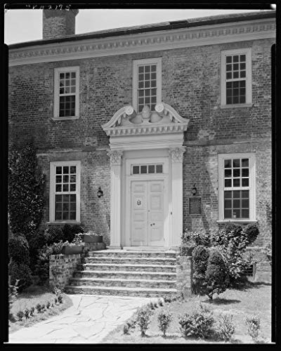 8 x 10 Reprinted Photo of Southern Architectural Wythe House, Williamsburg, James City County, Virginia 1939 Johnston Frances Benjamin 05a ()
