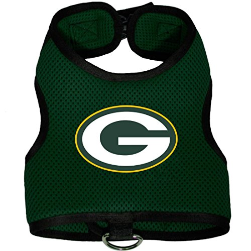 Green Bay Packers Pet Dog Premium Mesh Vest Harness XS