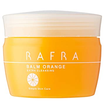 ラフラ バームオレンジ 100g 毛穴 クレンジング 洗顔 メイク落とし ホットクレンジング [毛穴汚れ・黒ずみ対策]