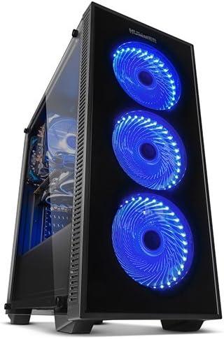 Nox Hummer TG RGB - NXHUMMERTGRGB - Caja PC, RGB, Color Negro: Nox ...