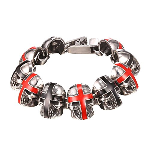 U7 Cross Stainless Gothic Bracelet