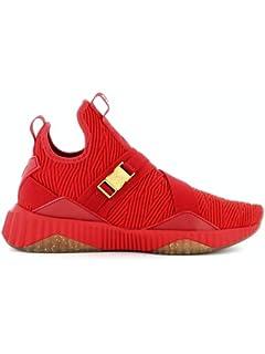 super popular 5787f 17866 Puma Women Sneakers Defy Mid Varsity: Amazon.co.uk: Shoes & Bags