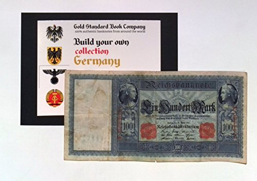 1910 German Empire Authentic 100 Mark Banknote (Build Your Own (German 20 Mark)