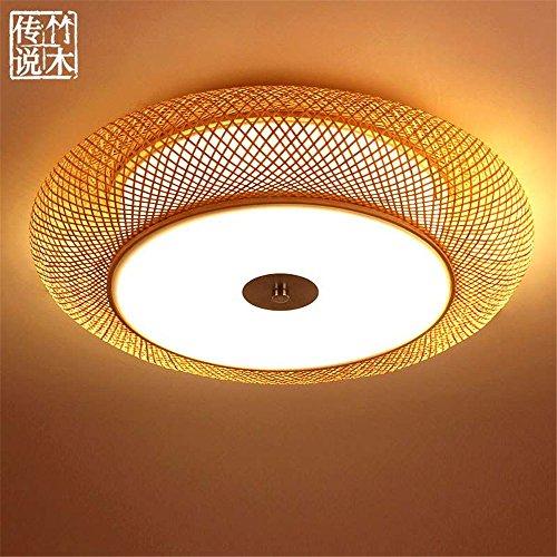 Modern LED Pendant Flush Mount Ceiling Fixtures Light Japanese style Ceiling Light Zen Lighting Modern Chinese style Creative Art Bamboo Light, 400mm