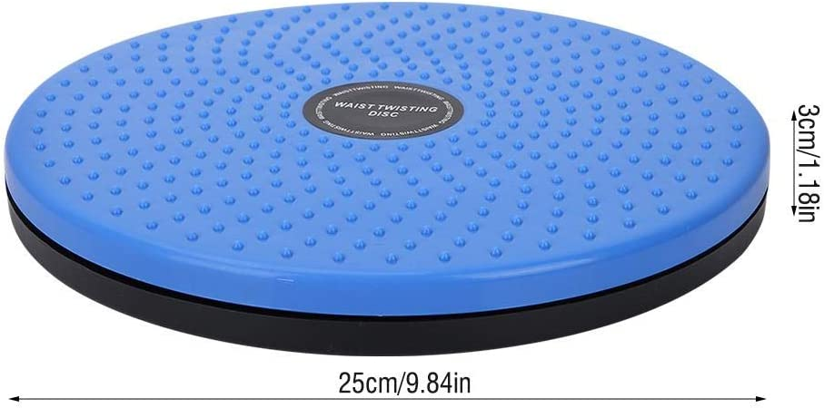 Blu modellatura del Corpo Torciglione girovita Bordo Rotante Femmina Twister Attrezzature Sportive Bnineteenteam Disco torcente girovita Bodytwister